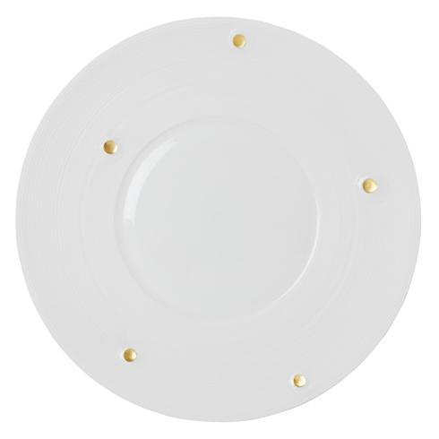 $215.00 Satin & Gold Charger Plate