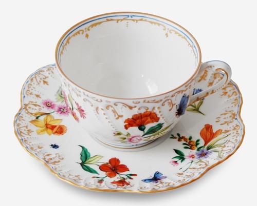 $468.00 Tea Cup & Saucer