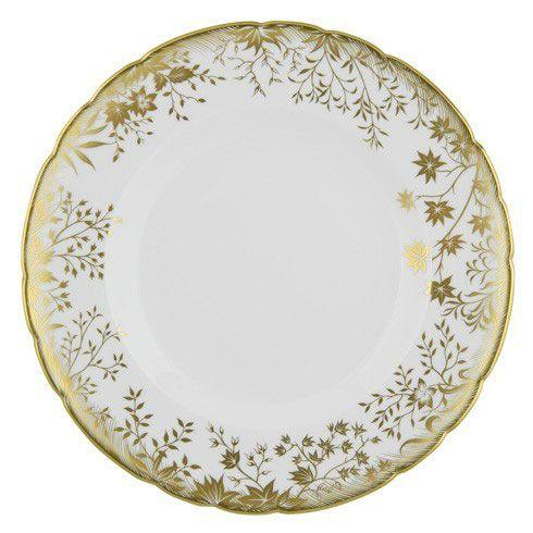 Royal Crown Derby  Arboretum Gold Dinner Plate $150.00