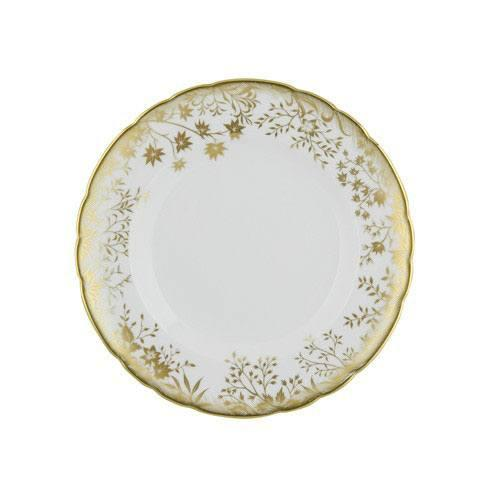 Royal Crown Derby  Arboretum Gold Salad Plate $145.00