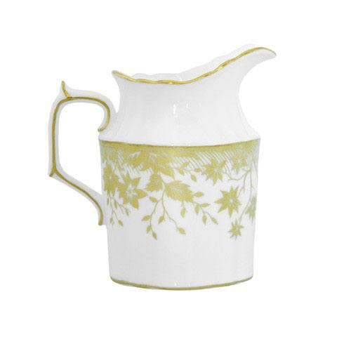 Royal Crown Derby  Arboretum Gold Creamer Jug $220.00