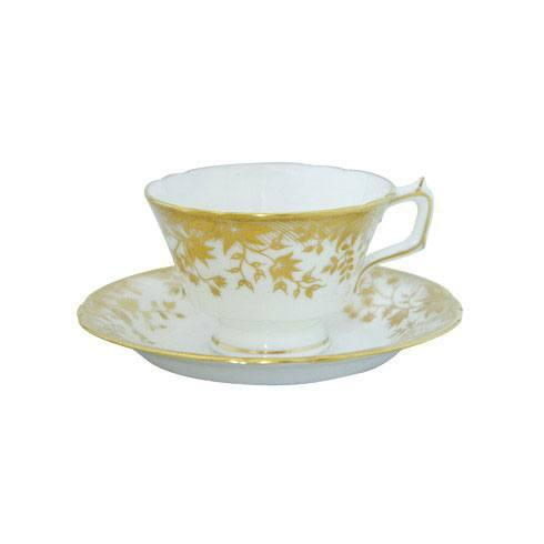 Royal Crown Derby  Arboretum Gold Tea Cup $110.00