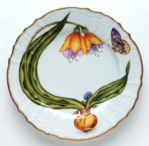 $450.00 Yellow Buttercup Dinner Plate