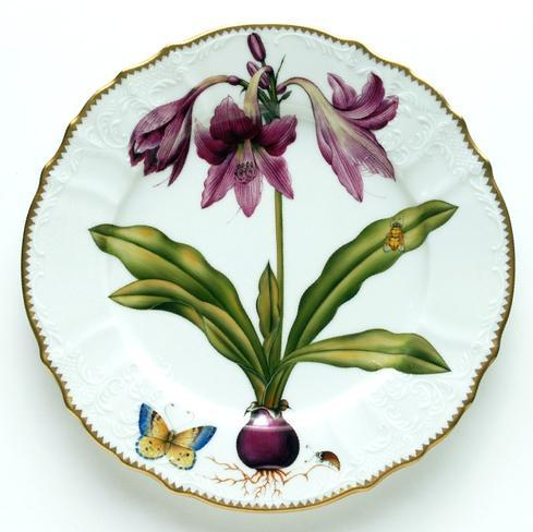 $450.00 Raspberry Lily Dinner Plate