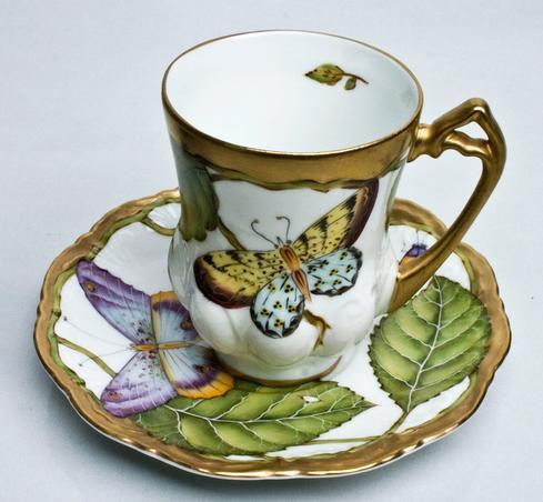 $425.00 Demi Cup & Saucer
