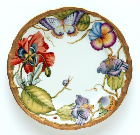 $527.00 Ornate Salad Plate