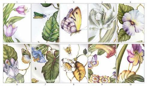 Assorted Botanical Set of 10 image
