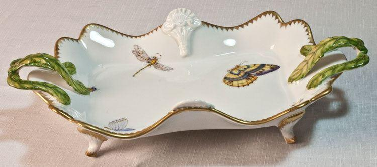 $445.00 Ornate Tray with Handles