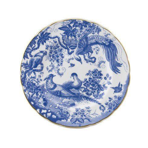 Royal Crown Derby  Aves - Blue Salad Plate $120.00