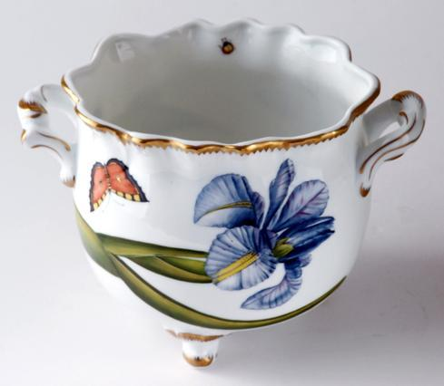 $595.00 Floral Round Ruffled Cachepot