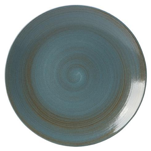 """Royal Crown Derby  Studio Glaze - Ocean Whisper 13.5"""" Platter $110.00"""
