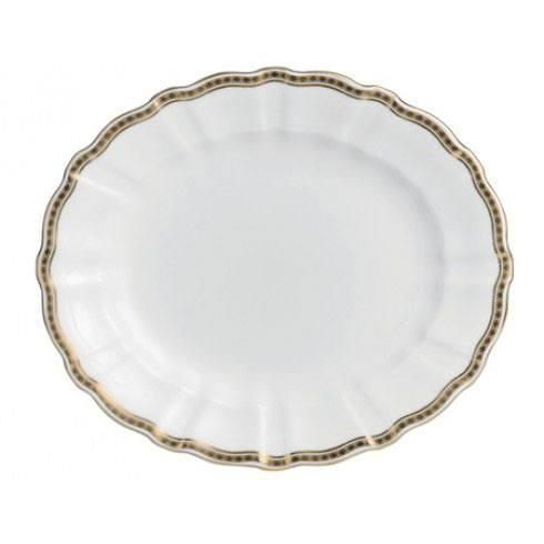 Royal Crown Derby  Carlton Gold Large Platter $536.00