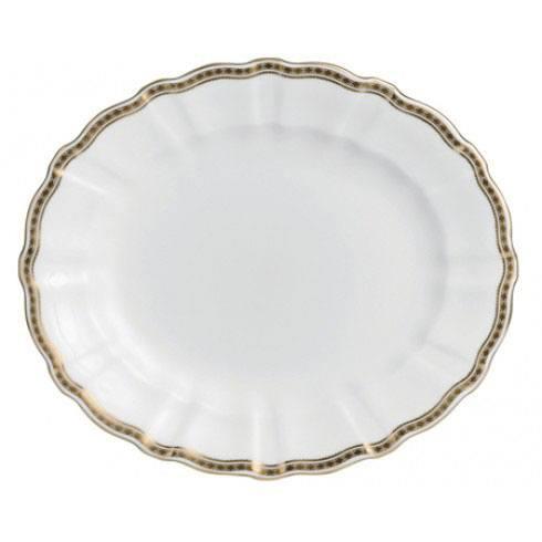 Royal Crown Derby  Carlton Gold Medium Platter $441.00