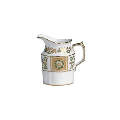 Royal Crown Derby  Derby Panel - Green Creamer Jug $245.00