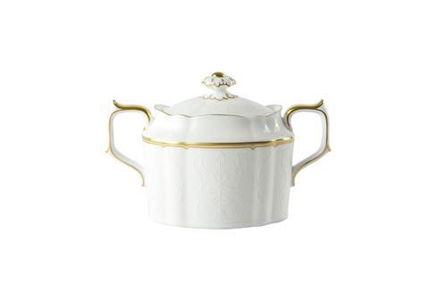 Royal Crown Derby  Darley Abbey Pure - Gold Sugar Bowl $135.00