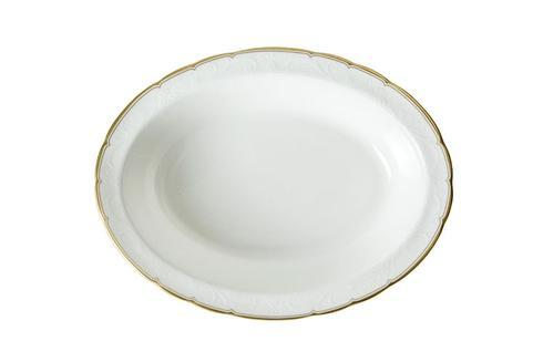 Royal Crown Derby  Darley Abbey Pure - Gold Open Vegetable Dish $145.00