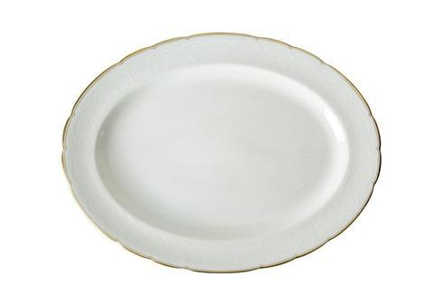 Royal Crown Derby  Darley Abbey Pure - Gold Large Oval Platter $185.00