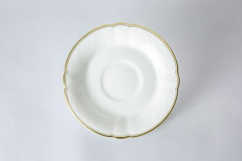 Royal Crown Derby  Darley Abbey Pure - Gold Tea Saucer $23.00