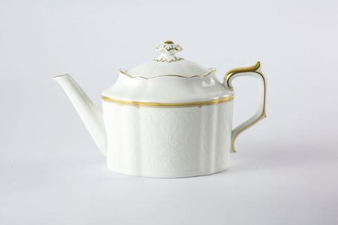 Royal Crown Derby  Darley Abbey Pure - Gold Small Tea Pot $185.00