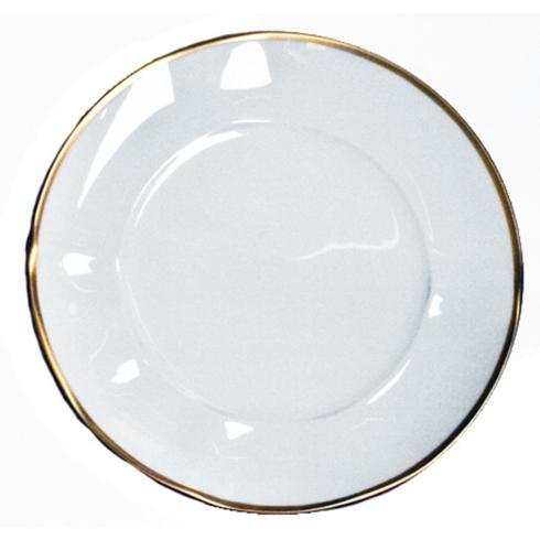 Anna Weatherley  Simply Elegant - Gold Dinner Plate $48.00