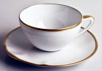 Anna Weatherley  Simply Elegant - Gold Tea Saucer $30.00