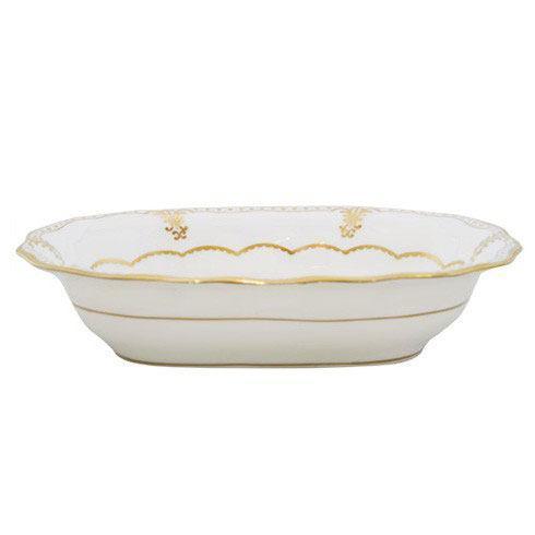 Royal Crown Derby  Elizabeth - Gold Open Vegetable Dish $580.00