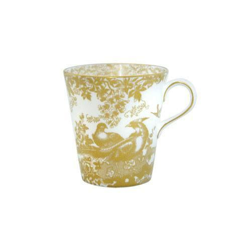 Royal Crown Derby  Aves - Gold Beaker $150.00