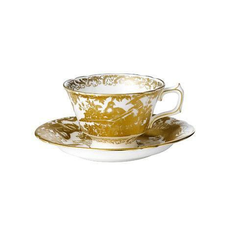 Royal Crown Derby  Aves - Gold Tea Cup $160.00