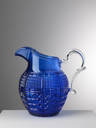 $82.00 Blue Pitcher