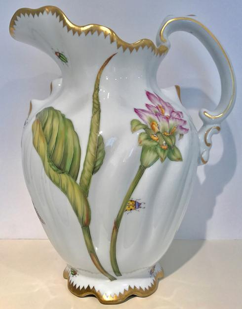 $520.00 Pink Flower Pitcher