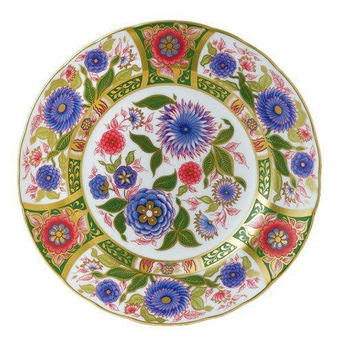 Royal Crown Derby  Imari Accent Kyoto Garden Plate in Gift Box $270.00