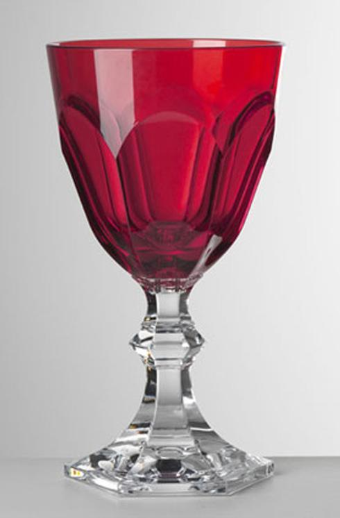 $25.00 Red Water Goblet