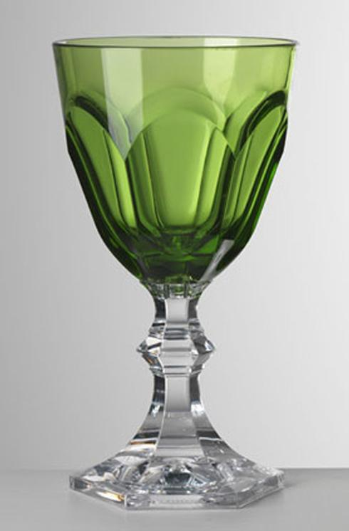Green Wine Goblet