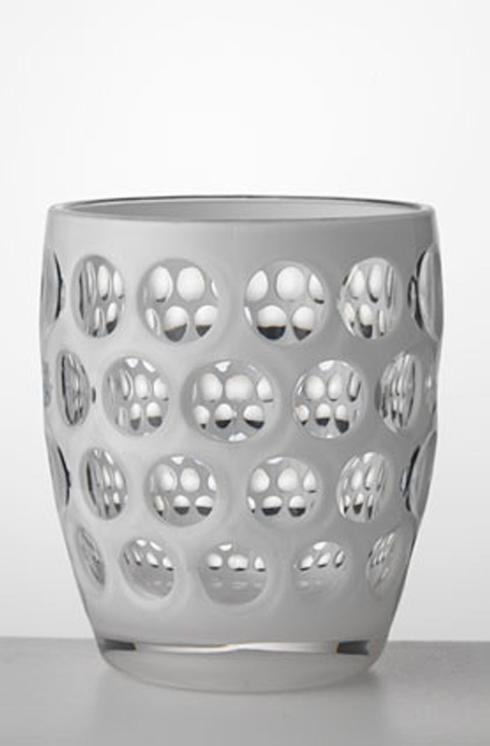 Mario Luca Giusti Barware Lente White Tumbler $20.00