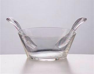 Mario Luca Giusti  Serving - Salad Bowl Clear With Servers $75.00