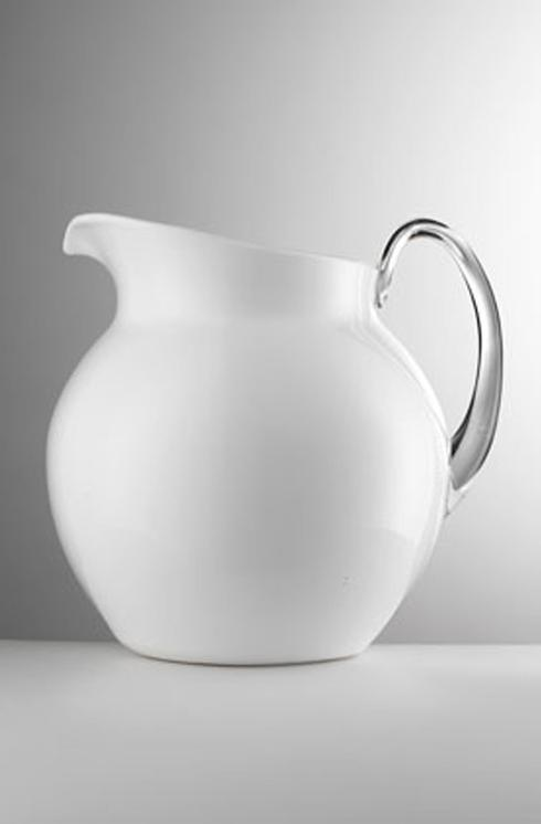 Mario Luca Giusti  Pitchers - Palla Glazed White Pitcher $75.00