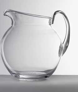 Mario Luca Giusti  Pitchers - Pallina Clear Pitcher $68.00