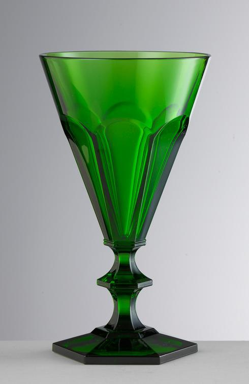 $25.00 Green Wine Glass