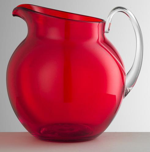 $68.00 Red Pitcher