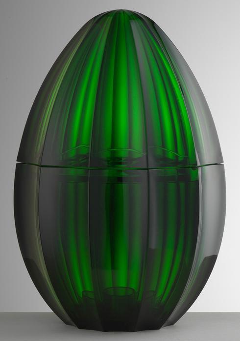 $190.00 Green Flatware Holder
