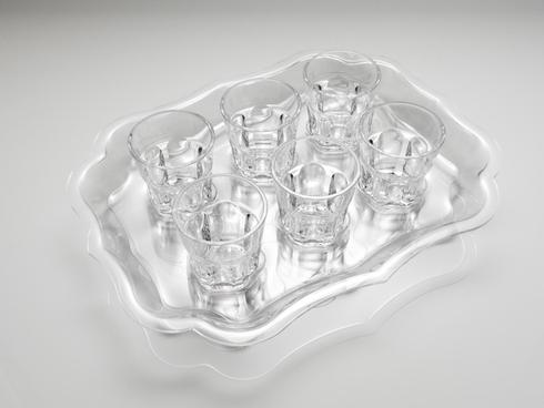 Serving - Six Trays collection with 2 products