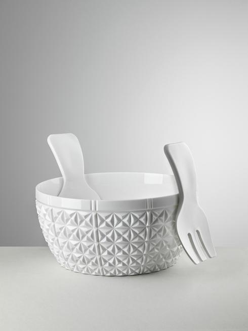$70.00 Salad Bowl White