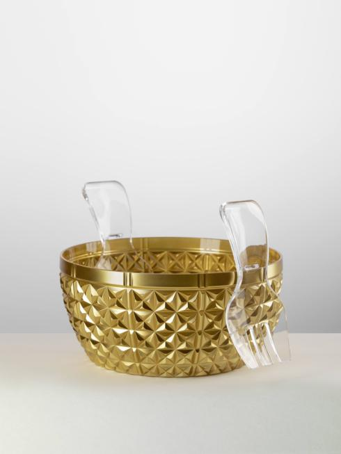 $84.00 Salad Bowl Gold