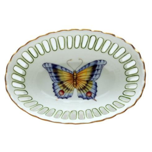 $137.00 Small Oval Green Dish
