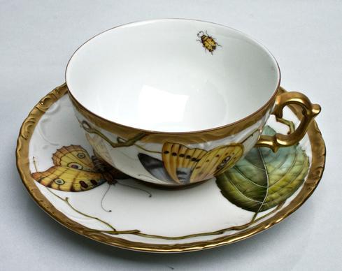 $465.00 Tea Cup & Saucer