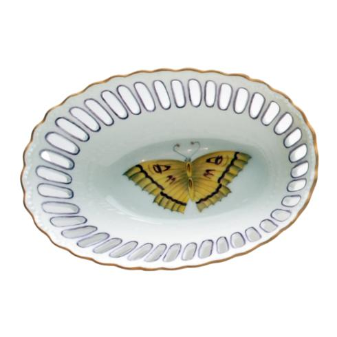 $137.00 Small Oval Purple Dish