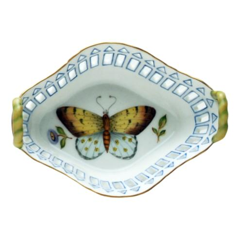 $146.00 Small Dish with Handles Blue