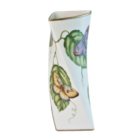 $560.00 Butterfly Triangular Vase