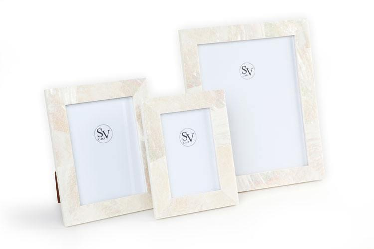 Picture Frames and Accessories - Rivershell collection with 3 products