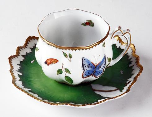 $440.00 Ruffled Cup & Saucer